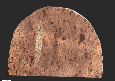 3. Oslo ignimbriet. Losse steen Hurum, N. (Vondst fam. Scheerboom. Doorn.)